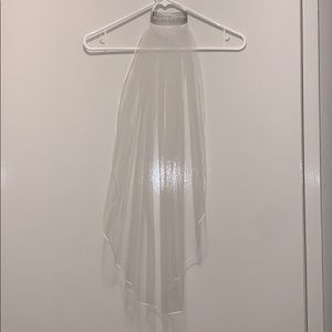 New Bridal veil 28inches - ivory